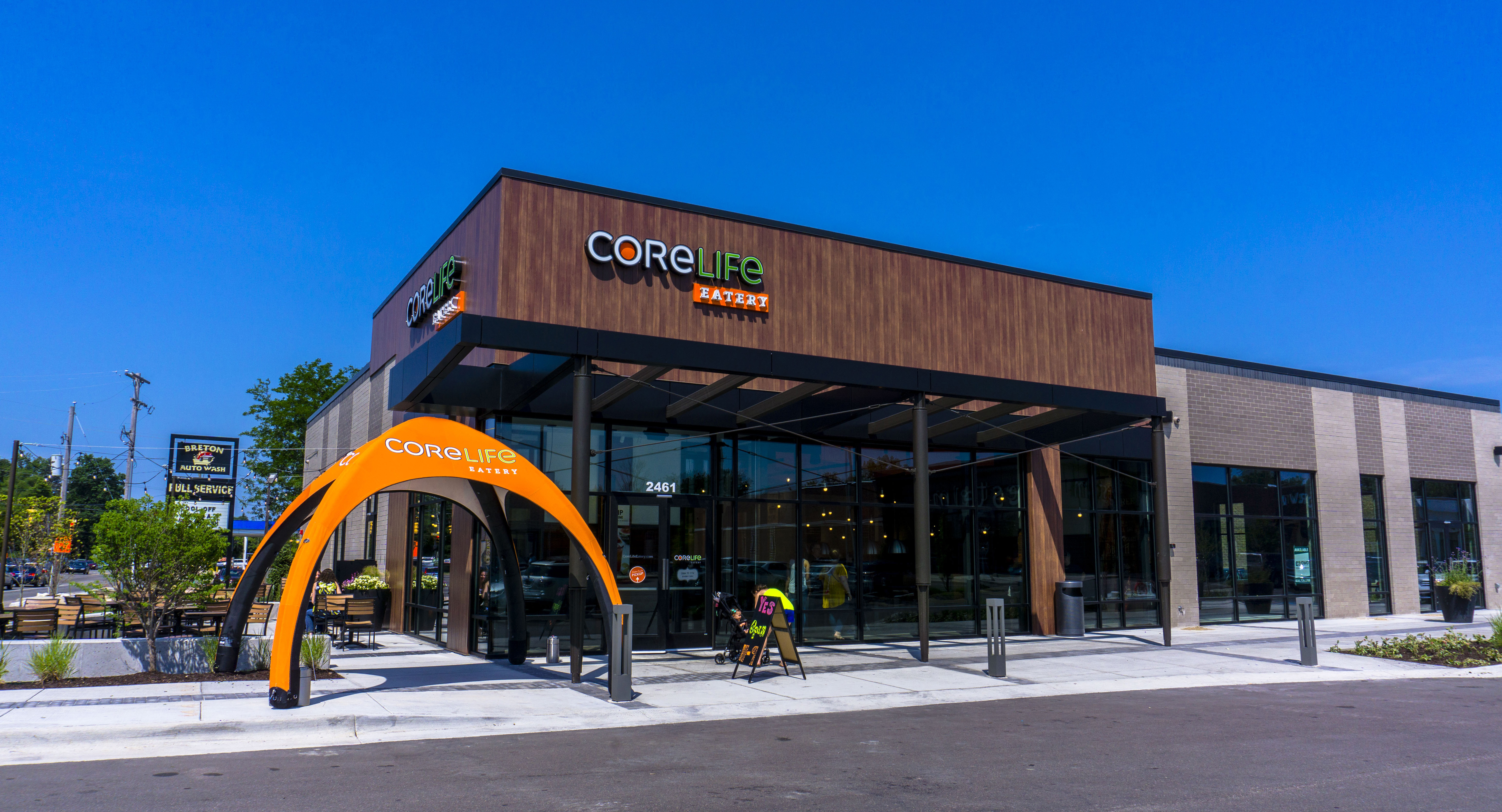 CoreLife Eatery's grand opening at Breton Village in Grand Rapids
